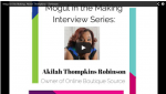 Akilah Thompkins Online retail and seo strategist