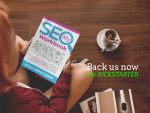 My SEO Workbook 2019 guide to learn and do SEO available on amazon and kickstater
